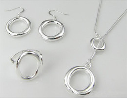 DSSS-092,very popular women's silver jewelry set ,High grade 925 sterling silver bracelet ring set