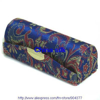 Wholesale Mirrored Lipstick Case Lip balm Tube Silk Fabric Lip Gloss Packaging Box Containers Free