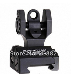 Wholesale Troy Industries Rear Battle Back Up Iron Sight Black Folding Piece Pack black tan