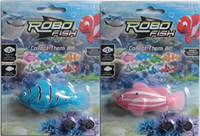 Wholesale Discount price Toys Children Gift swimming fish ROBO FISH colors random