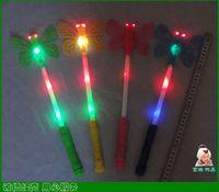 Unisex bar electronics - Butterfly Flash stick glow stick light stick cartoon LED electronic bar party atmosphere dec