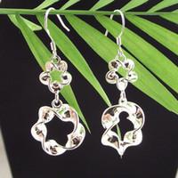 Wholesale DSSE so beautiful sterling silver earrings women s silver earring