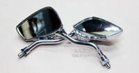 Wholesale CHROME SKULL HAND REARVIEW SIDE MIRRORS KAWASAKI VULCAN VN Four colors