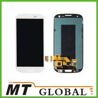 Wholesale For Samsung S3 LCD Display amp Touch Screen Digitizer for Samsung Galaxy SIII i9300 i535 Verizon i747 AT amp T L710 Sprint T999 T Mobile