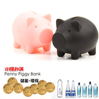 Wholesale Pieces Pig Cartoon Coin Piggy Bank Cartoon Saving Money Box Case