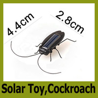 Wholesale Hot Solar Cockroach Solar insect Solar Toy Solar Power Robot Insect Bug Toy Educational kid