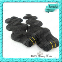 Wholesale 100 Brazilian Weave Virgin Remy Hair Weft Body Wave Can Be Dyed Any Color