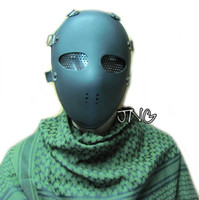 Wholesale ALIEN FULL FACE ANTI IMPACT HIGH RESISTANCE PROTECTION FACE MASK AIRSOFT PAINTBALL BB GUN PARTY