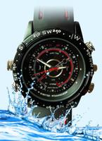 Wholesale Fashion watch DVR Camera DV water proof MINI dv watch camera GB Free ship