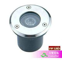 Wholesale W LED underground lamps V OR AC85 V CE ROHS Epistar chips W LED underground lights