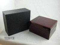 wood display - Luxury Jewelry Bracelet Watches Gift Boxes Timber No Logo mm mm Wooden Display Watch Box New