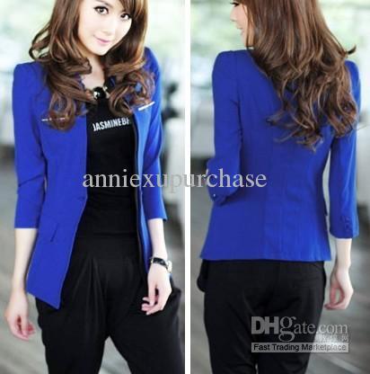 Wholesale Womens Dresses Buy Blazer Women 2012 Fashion Autumn Be