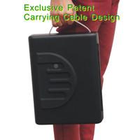 Wholesale 6 Patent MS500 portable travel biometric fingerprint gun carry on mini car safe box gun vault
