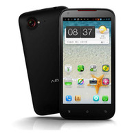 Wholesale Amoi N821 G andorid phones quot IPS x540 MTK6577 Dual core GB GB android Dual SIM MP Ca