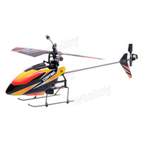 Wholesale 2 G CH Bare Single Blade Gyro RC MINI Helicopter Outdoor V911 without remote controller or b