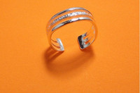 Wholesale hot sale S925 silver toe rings mix design