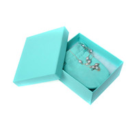 Wholesale 2013 Necklace Brand Name Bracelet Ring Bangle Earring Necklaces Jewelry Package Boxes Factory Price