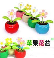 Dolls solar dancing flower - Swing Solar Flower Magic Cute Flo Flip Flap solar flower Solar Dancing Flowers