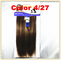 Wholesale Noble Better YAKI quot Color P4 Lady Fashion Synthetic Hair Weave Synthetic Hair Extension