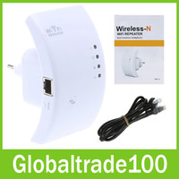Wholesale 300M Wireless Wifi Extender Repeater N B G Network Router Range Wifi Router Signal Booster Amplifier Certified Product Free DHL