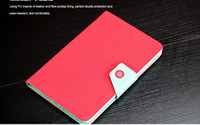 FASHION Contrast color Folio Leather Case cover for ipad min...