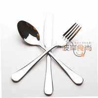 Wholesale fashion brief quality dinnerware set steak knife and fork spoon piece set