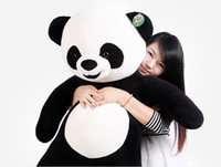 Wholesale Giant panda doll cute doll plush toy giant panda pillow birthday gift m iinches