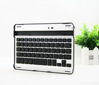 Wholesale New Blue tooth wireless Aluminum keyboard for ipad mini inch with retail packing