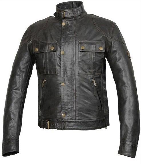 Designer Leather Jacket Italy Leather Slim Fit Men Business Casual ...