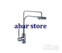 Wholesale Single Handle Chrome Centerset Kitchen Faucet Joint Pure Water Filter
