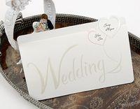 Wholesale White letter Invitation Wedding Invitations come envelopes sealed card