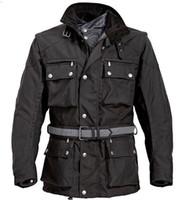 chaquetas de cera diseñador de los hombres impermeables al aire libre chaquetas del deporte de algodón acolchado envolver Oferta especial frente shpping libre