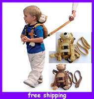 Wholesale New Arrival Goldbug Monkey Bear Baby Toddler Safety Harness Leash Tether Kids Walking Wings