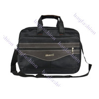 Wholesale New Black Oxford Fabric Laptop bag Notebook Briefcase man Business Handbag Carry On Bag