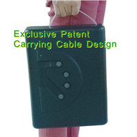 Black fingerprint safe box - Patent MS500 OK portable travel biometric fingerprint gun carry on mini car safe box gun box