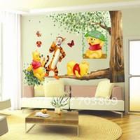 PVC bear wallpapers - PVC wall sticker bear sticker wall decal wallpaper room sticker house sticker