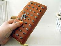 Women PU Chirstmas Korean Style PU Leather fashion Handbag designer Rivet Lady wallet Clutch Purse Evening Bag hot sale