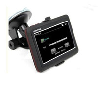 Wholesale 50pcs Inch GPS Navigator MTK MHz Free Maps FM MP3 MP4 Player RW GN02