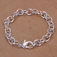 Wholesale Fashion Tradition Chain High quality Top Sale Silver Noble fashion charm Bracelet Jewelry H089