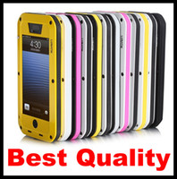 Wholesale Free DHL Lunatik Taktik iphone5 Extreme Case Cover Aluminum Cases Premium iPhone s iphone s