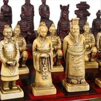 Wholesale Rare A set of Asian old chess pieces game Science