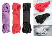 Wholesale 6 off12015new arrival hot sale Sex product Cotton rope bound bondage BDSM game10m sex toys