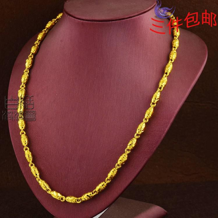 Wholesale high imitation gold plated imitation gold men 39 s for Does gold plated jewelry fade