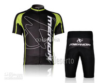 Wholesale 2012 NEW Hot MERIDA Short Sleeve Cycling Jerseys Set Cycling Wear Clothing Shorts C033