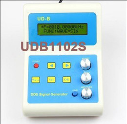 Wholesale FreeShipping UDB1102 MHz DDS Function Signal Generator Source with MHz Frequency Counter DDS Module