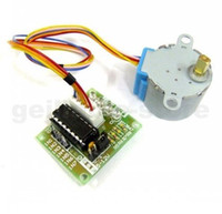 Cheap free shipping DC Gear Stepper Step Motor with ULN2003 Driver Board 5V 4 Phase 28YBJ-48 for Electronic model experiment
