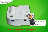 Wholesale Mini LED Digital Video Projector with Remote control Native X240 with AV VGA USB SD