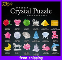 Wholesale New Design Multi Style D Crystal Assembling Puzzle Jigsaw Educational Toys Assembly Toy