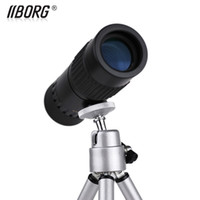 Wholesale Top Quality High power monocular pocket night vision binoculars Adjustable multiple not hurt eyes With telescopic tripod Genuine security