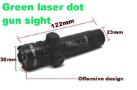 Wholesale Green Laser gun sight air rifle Point Dot Sight Tactical Scope Switch Mount batteries set